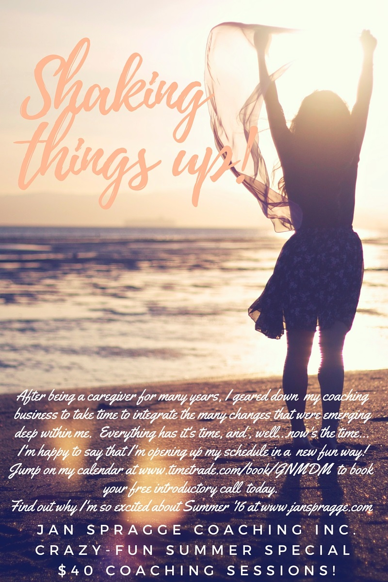 Shaking things up! (3) - new